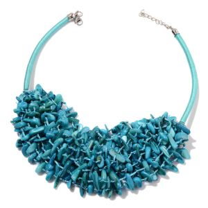 Shell bib beaded necklaces