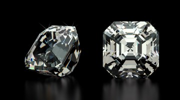 Asscher Cut Gemstones