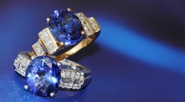 Tanzanite Retrospective: Celebrating Over 50 Years Banner Image.