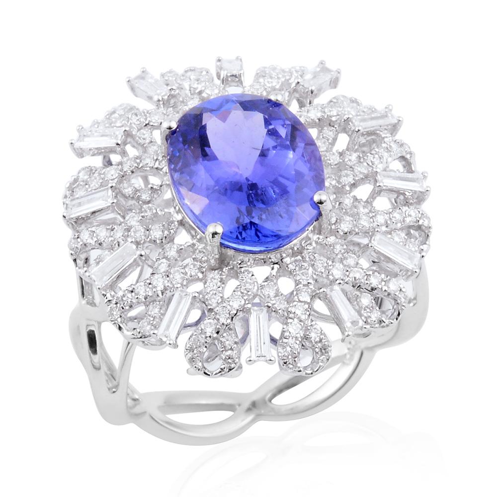 Premium AAA Tanzanite ring