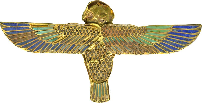 Ancient Egyptian hair ornament