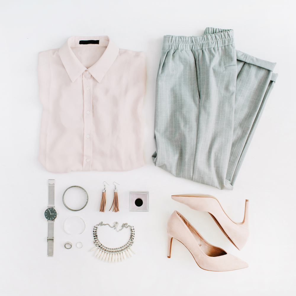 Sophisticated Spring outfit.