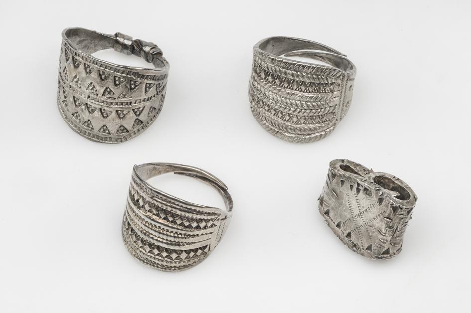 Ancient Viking rings.