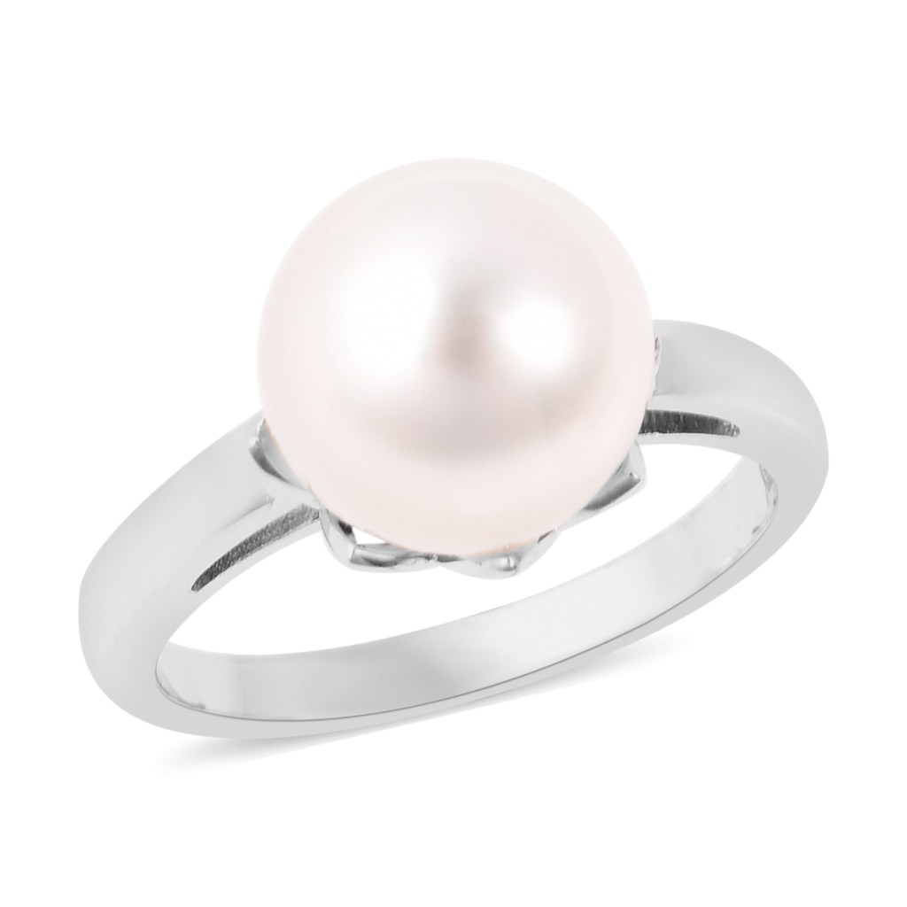 Galatea: Jewelry by Artist The Bible Pearl solitaire ring.