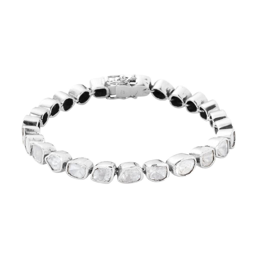 Polki diamond bracelet.