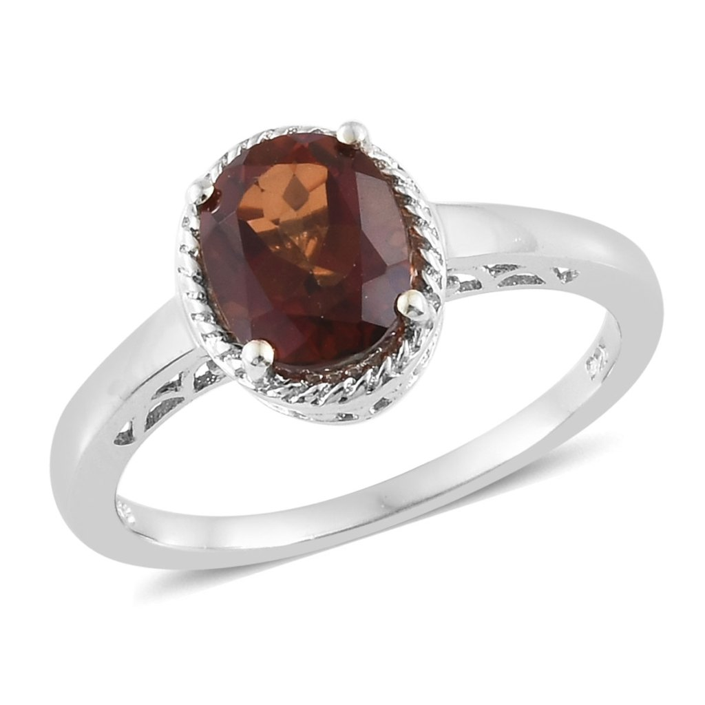 Calico Biddy Topaz ring.