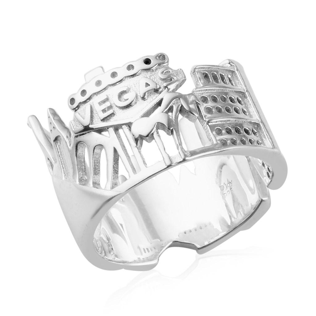 Sterling silver Las Vegas ring.