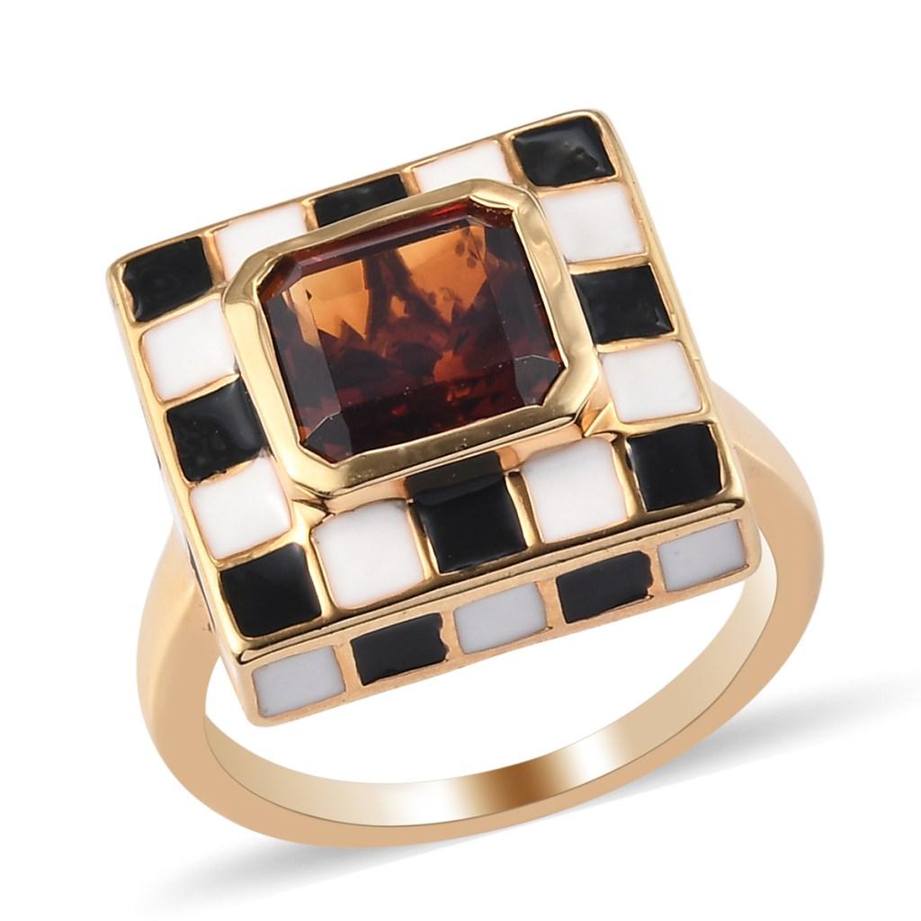 Giuseppe Perez Art Deco inspired ring.