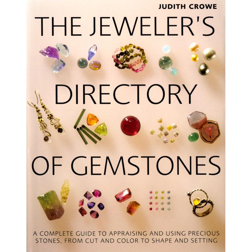 The Jeweler's Directory of Gemstones book.