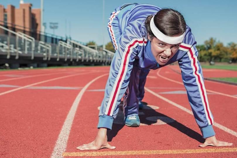 Alimentación, entrenamiento y descanso para ponerse en forma.