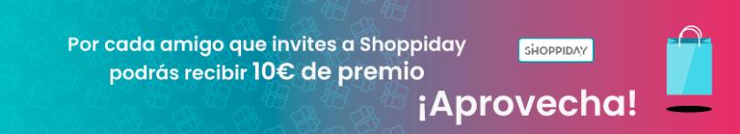 Invita a un amigo Shoppiday