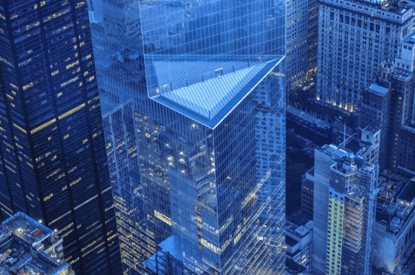 edificio de oficinas y finanzas