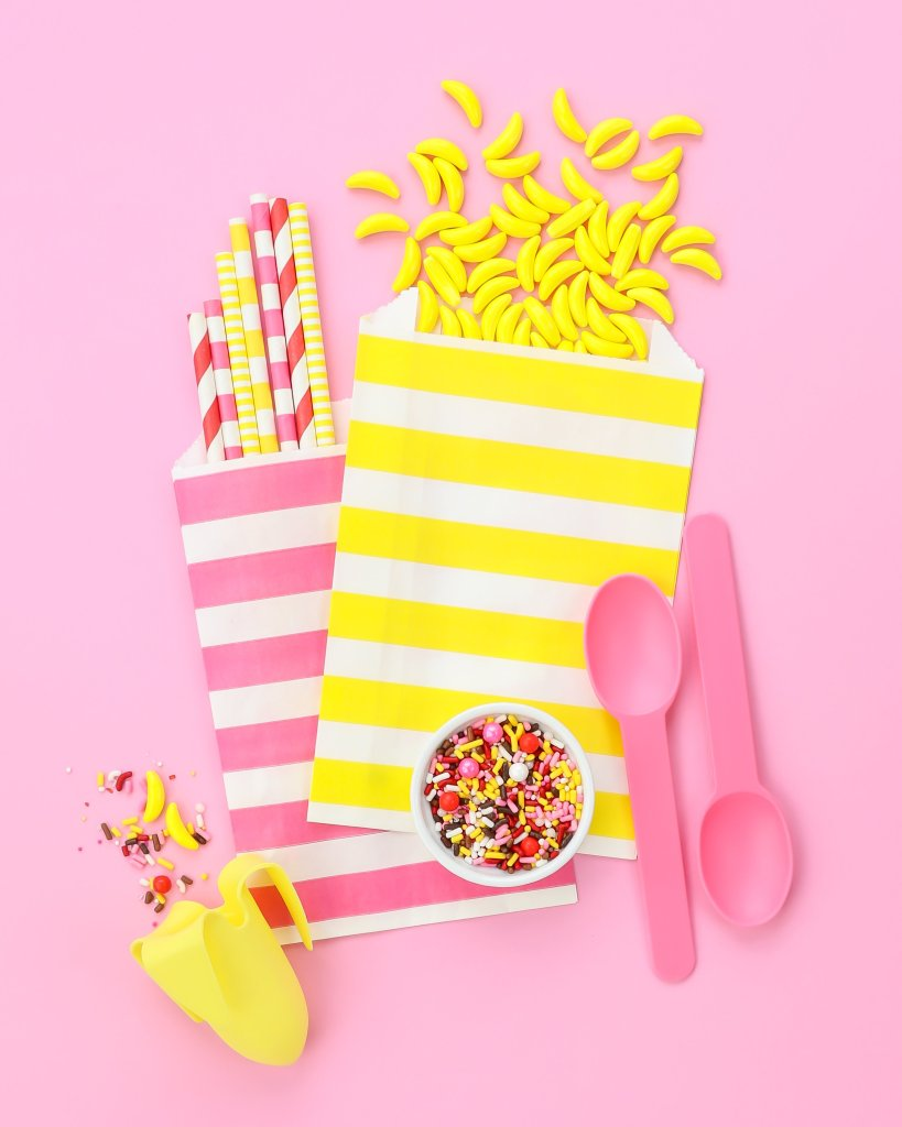 Banana Split Sprinkles Party Board | Sweets & Treats
