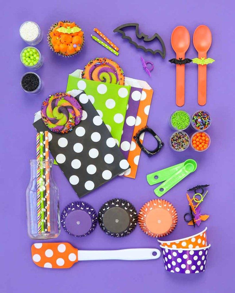 Batty Bakery Halloween Party Ideas Style Board