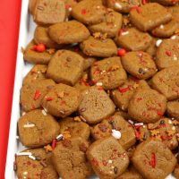 Gingerbread Cookie Bites Recipe - Easy Christmas Cookies