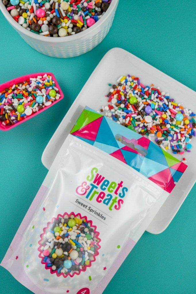 Sweets & Treats Custom Sprinkles Mix - Rainbow Sprinkle Mix