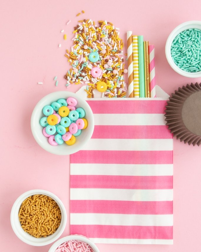 Donut party ideas using donut party supplies