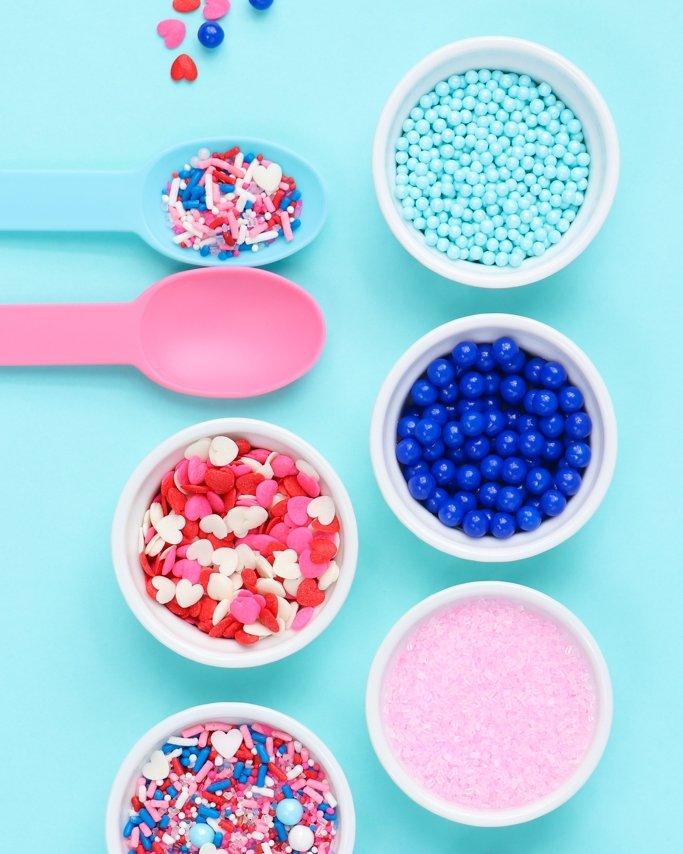 Double Bubble Blue + Pink Valentines Inspiration