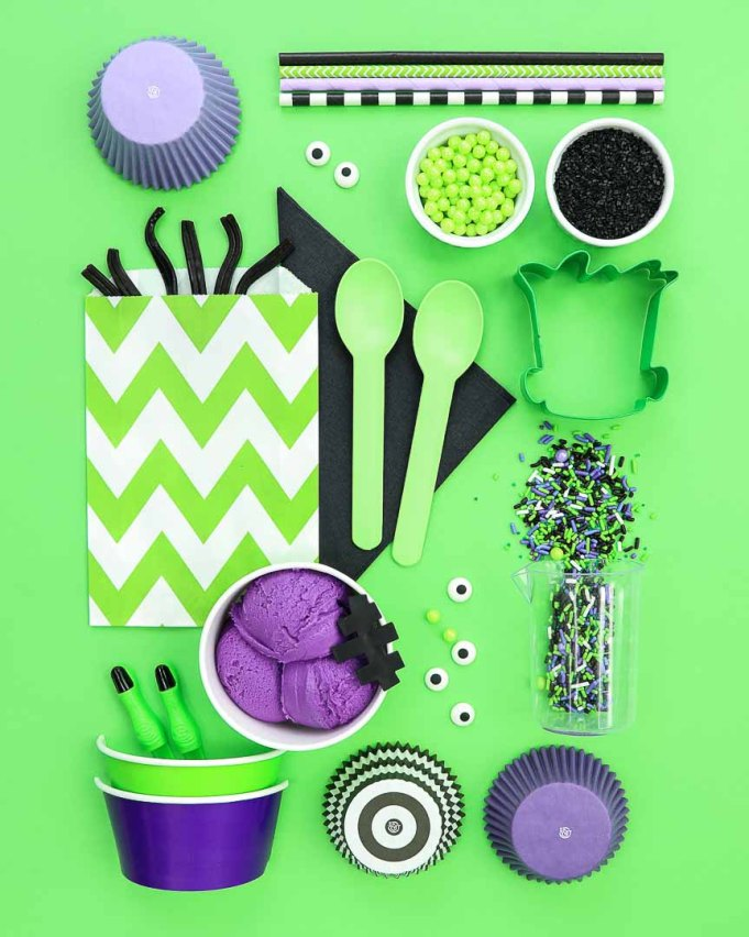 Frankenstein Kids Halloween Party Ideas - Party Supplies Board