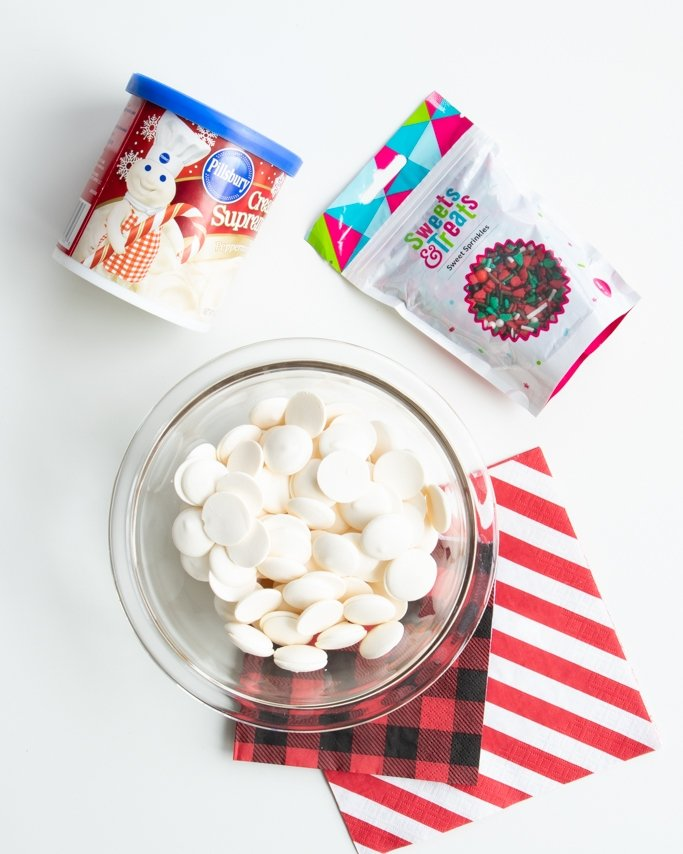 easy peppermint fudge recipe ingredients