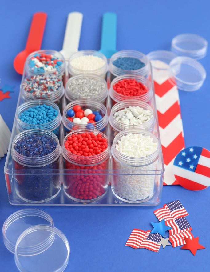 Patriotic Sprinkles - 4th of July Sprinkle Mix Kit