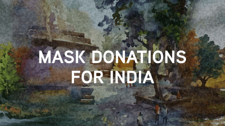 Mask Donations for India