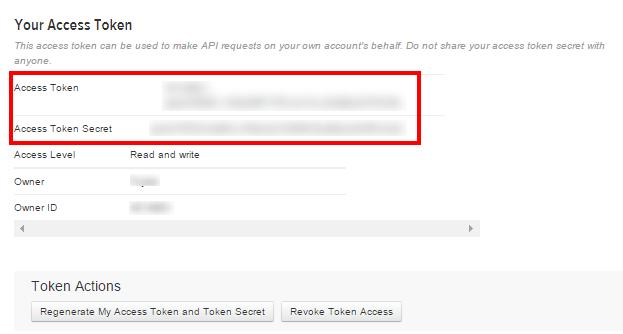 """""""Access token"""""""