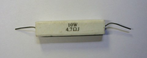 4.7 ohm 10 watt Resistor