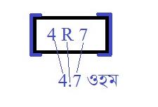4.7 ohm resistor code