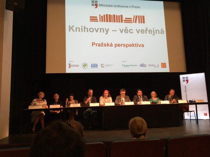 Knihovny věc veřejná 2018 - panel