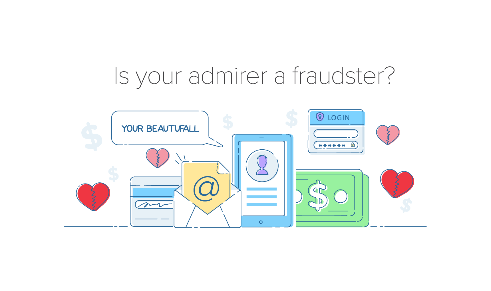 Infographic Fraud In The World Of Online Dating