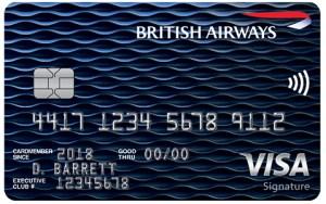 British Airways Visa Signature Card