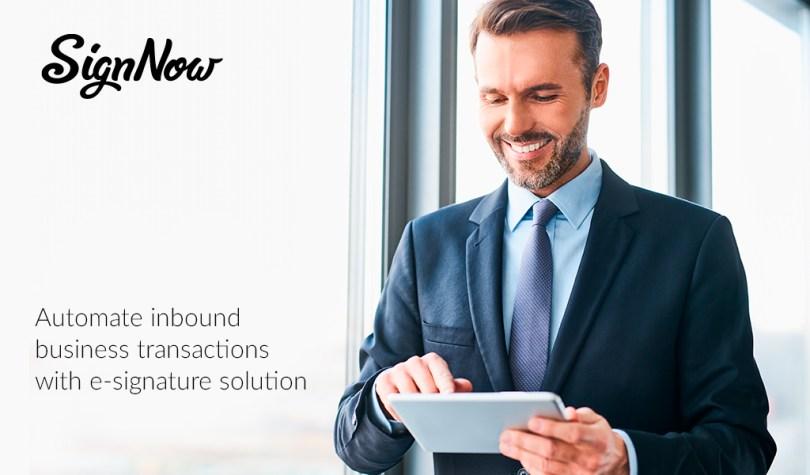 E-signature for enterprises, SignNow, business automation, digital workflow, market research
