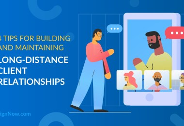 long-distance client relationships