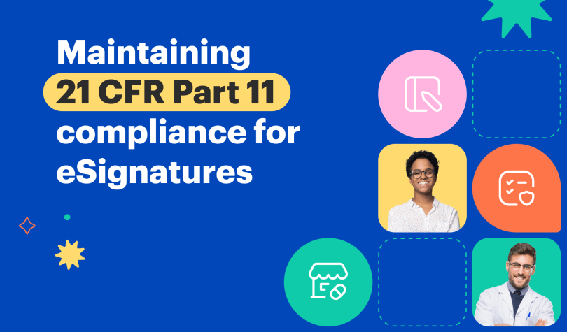 Is signNow CFR 21 pt 11 compliant?