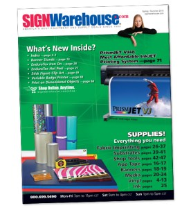 SignWarehouse 2010.2 Catalog for Signmakers