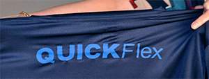 Fig 2: Chemica QuickFlex is a very soft, hot peel film with good stretch & rebound.