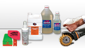 Adhesive Vinyl Remover Tools and Liquids