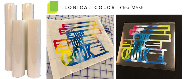 Logical Color ClearMASK heat transfer tape