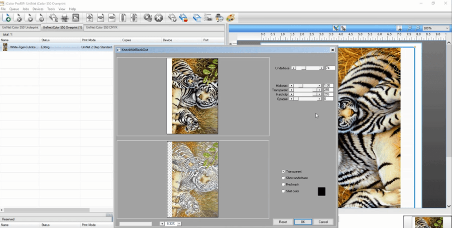 ProRIP Knockmeblackout rasterization