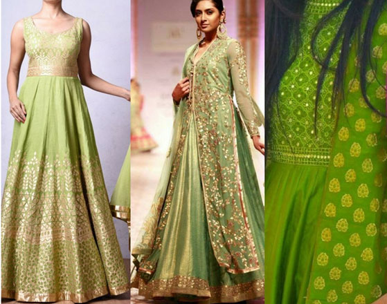 Greenery-in-Indian-Fashion-9