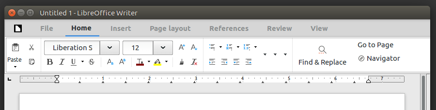 """How to try the new MUFFIN (""""Ribbon"""") toolbar of LibreOffice"""