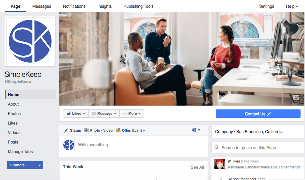 Here are our top tips for boosting and building your Facebook business page and getting the word out.