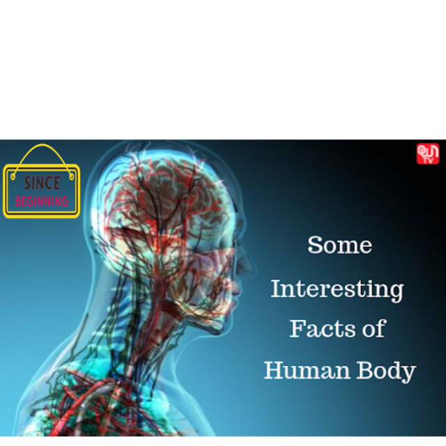 Amazing Facts About Human Body