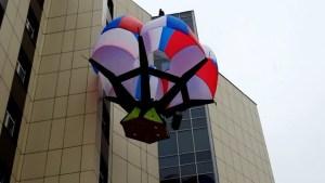 Parachute Fire Escape