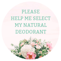 CHoose my natural deodorant bar