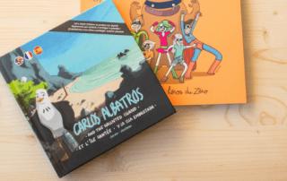 Children book about plastic pollution