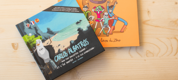 Children book about plastic pollution