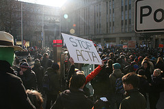 Anti ACTA Demo Düsseldorf