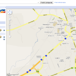 Svetovno nogometno prvenstvo v Google Maps